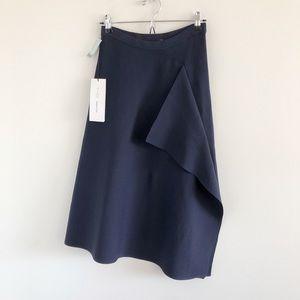 NWT Aritzia Babaton Pamella Knit Skirt Inkwell Med